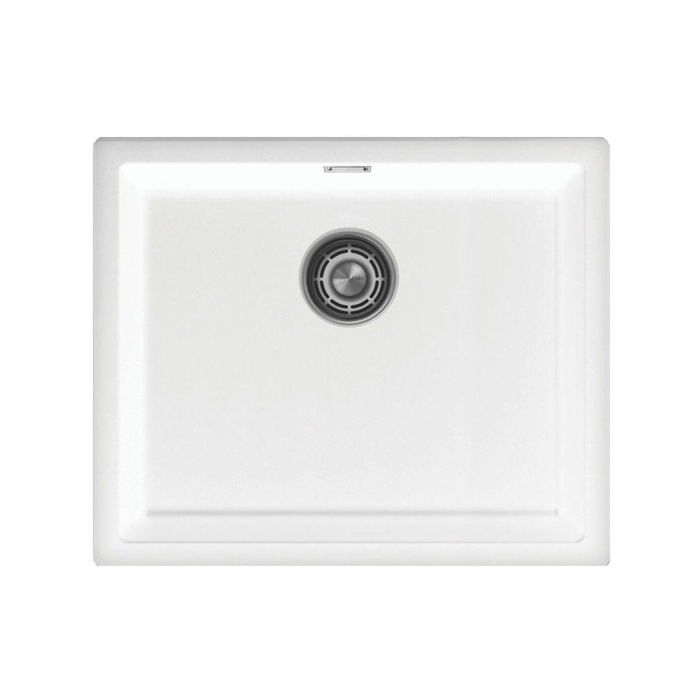 Lavabo Cocina Blanco - Nivito CU-500-GR-WH Strainer ∕ Waste Kit Color White