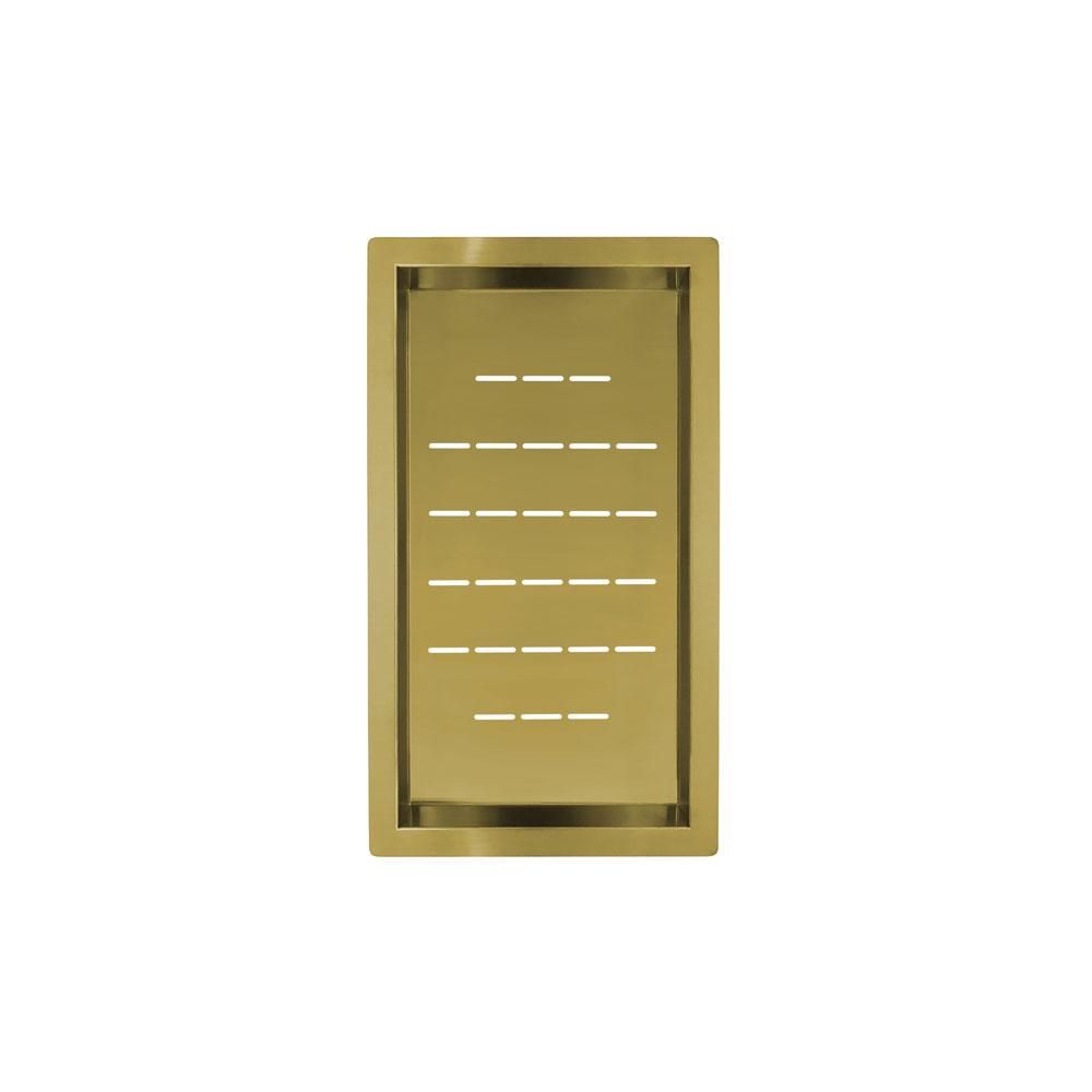 Cuenco Colador Dorado/Oro/Latón - Nivito CU-WB-240-BB