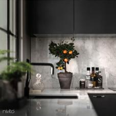 Llave Cocina Negro - Nivito 10-RH-320