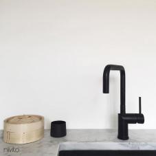 Agua monomando negro