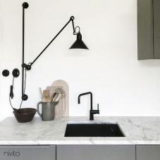 Llave Cocina Negro - Nivito 16-RH-320