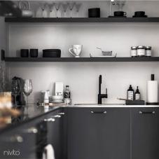 Llave Cocina Negro - Nivito 21-RH-320