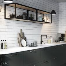 Llave Cocina Negro - Nivito 22-RH-320