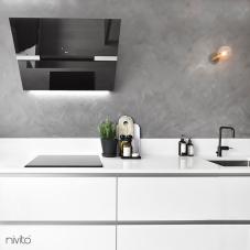 Llave Cocina Negro - Nivito 3-RH-320