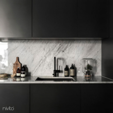 Llave Cocina Negro - Nivito 8-RH-320